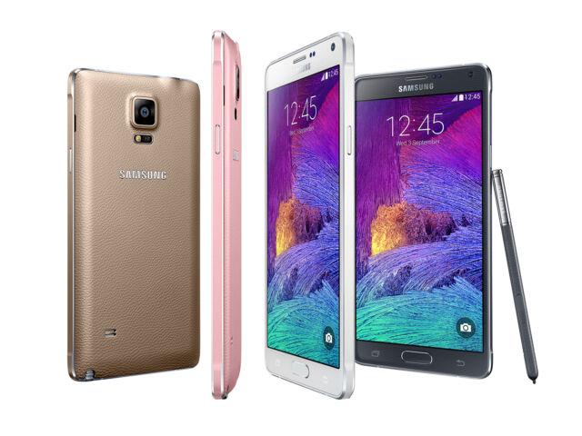 "Unlocked 5.7"" Samsung Galaxy Note 4 4G LTE Android GPS Smartphone 32GB 3G RAM #"