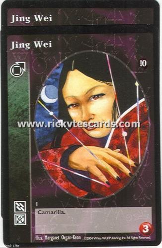Jing Wei x2 Tremere TAE VTES Jyhad