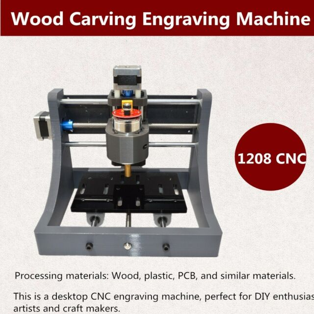 Diy Cnc Router Kit Usb Mini 3 Axis Wood Carving Engraving Machine
