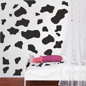 Superbe Image Is Loading Animal Wall Decal Print For Bedroom Cow Spot