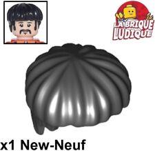 Lego 1x polybag hair headdress hair short dark brown shorts marrron 20877 nine