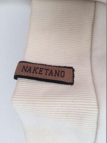 New Naketano Men Muschi Maritim Sweatshirt Pullover Natural Melange