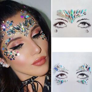 Festival Club Rave Party Face Body Jewels Gem Tattoo Crystal ... ed07bf19ee56