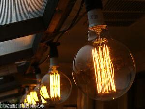 10 Piece Vintage Edison Festoon Party String Light Kit - Globes Included! eBay