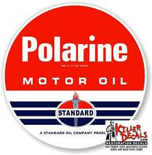 "15/"" 1955-70 FRONTIER HORSE GASOLINE DECAL GAS OIL GAS PUMP SIGN lubester STICKER"
