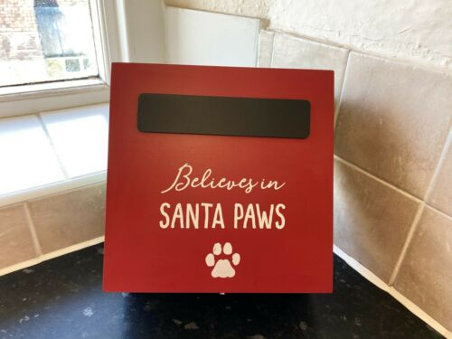 Santa Paws Christmas Eve Box Can Be Personalised At Home With Chalk