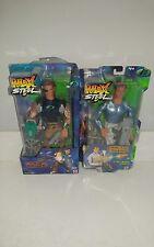 Max Steel Cave Raider Figure & Artic Agent Figure 2000
