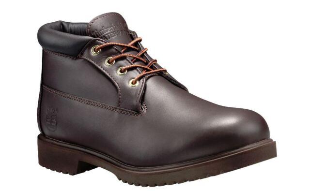 sale retailer a061f 1074d Timberland Premium Waterproof Chukka Boots Mens 22049-Brown