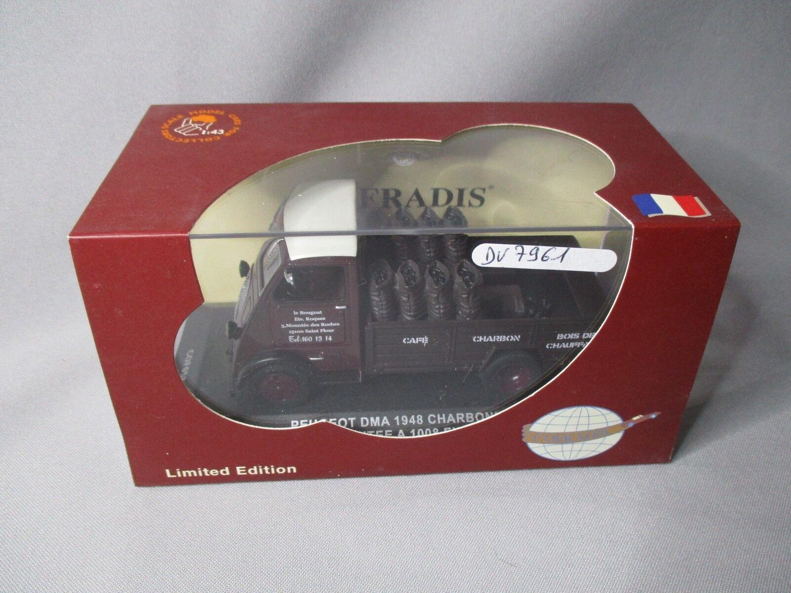 suministramos lo mejor DV7961 COFRADIS PEUGEOT DMA 1948 CHARBONNIER 1 43 Ref Ref Ref COF058 Ed Lim 1008ex NB  increíbles descuentos