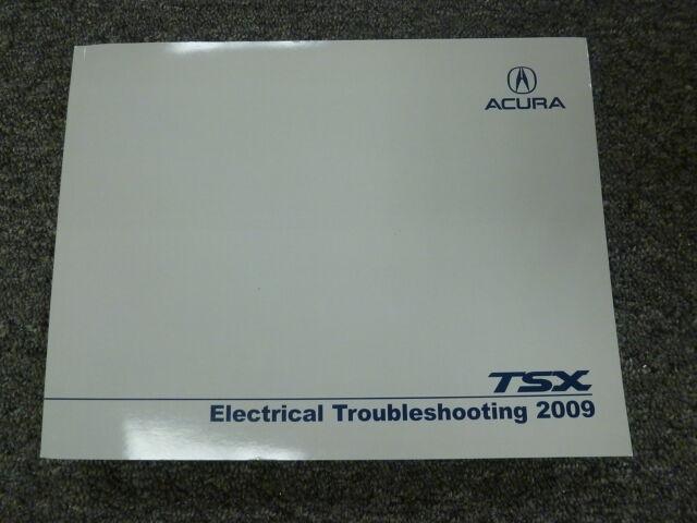 2009 Acura Tsx Sedan Electrical Wiring Diagram