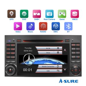 "7"" Autoradio DVD GPS Navi Mercedes Benz A/B Klasse Sprinter W245 W169 Viano Vito"