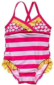 7df032ef20823 Circo Baby Girl's Swimsuit Swimming Suit One Piece 6 Month 6M Ruffle ...