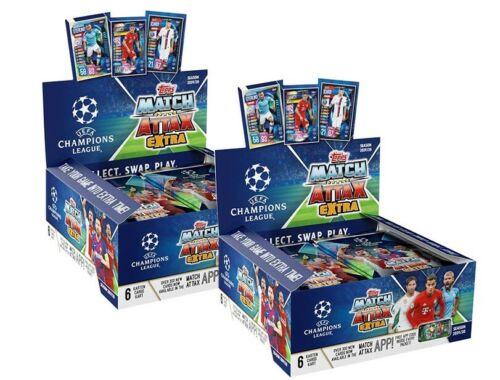 Topps match coronó extra Champions League 2019//2020 2 x pantallas 60 Booster