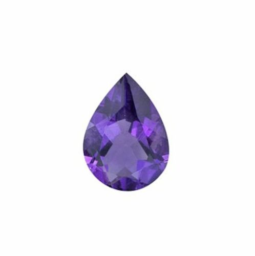 4x3mm - 16x12mm Amatista Naturales Africanos Deep Purple Piedras Preciosas Sueltas Pera AAA