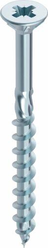 Heco-topix madera tornillo azul galvanizado parte rosca senkkopf pz accionamiento