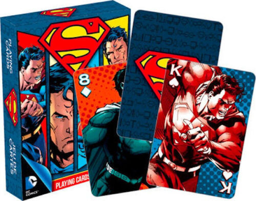 DC Superman Playing Cards Deck New