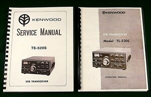 Kenwood TS-820S Instruction Manual *On 32LB Paper* w//Fold Out Schematic!