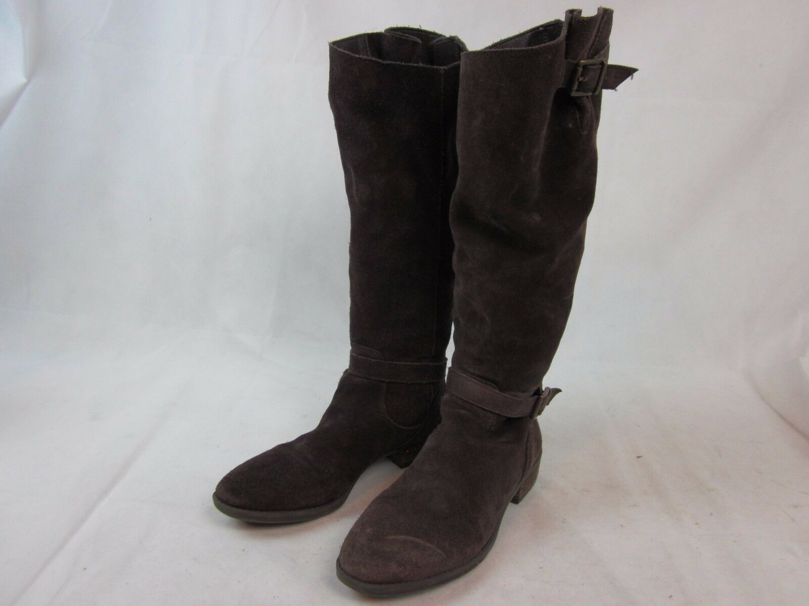 SAM EDELMAN WOMEN'S BROWN SUEDE BOOTS WOMEN'S 40