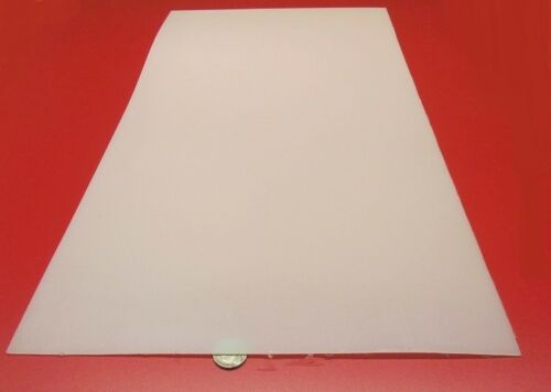 "- .063/"" x 12/"" x 24/"" 4 Units 1//16 Nylon 6//6 Extruded Sheet Natural Tint"