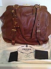 Prada Doctor's Bag, Brown With Original Dust Bag And Tags