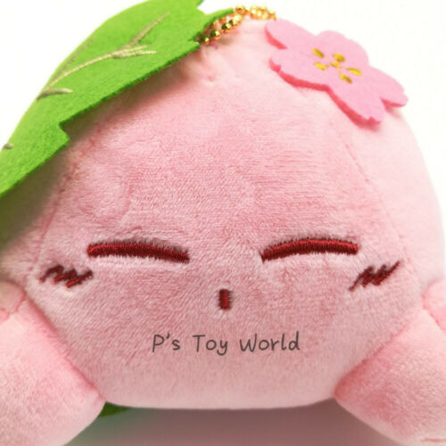 Kirby Lying Cherry 13CM Kirby/'s Dream Land collection Plush Doll Figure Toy