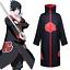 Indexbild 8 - Naruto AKATSUKI ROBE Cloak Uchiha Itachi Cosplay Costume Claok Cape Unisex S-XXL