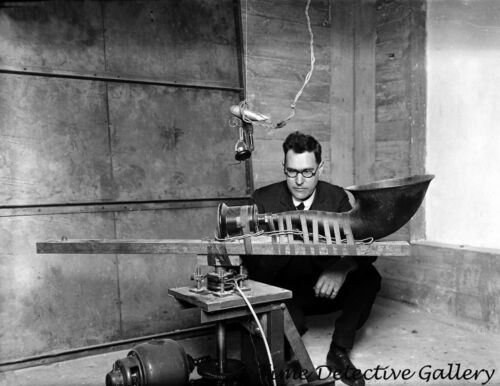 circa 1925 A Loud Speaker Horn Historic Photo Print