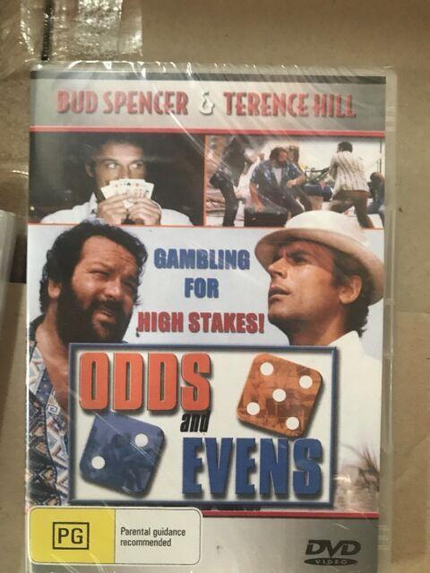 Odds And Evens DVD Bud Spencer Terence Hill New Australia Region 4