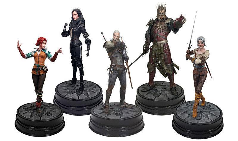 Dark Horse Deluxe The Witcher 3 Wild Hunt Figure Geralt Ciri Triss Yennefer Ered