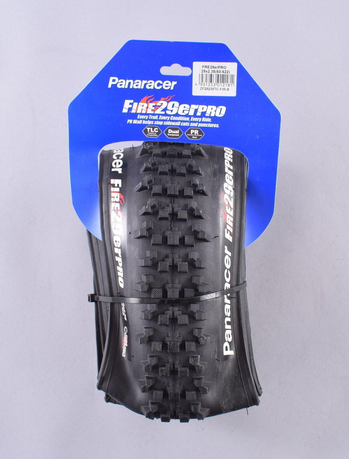 NEW Panaracer Fire 29er Pro Mountain Bike Tire 29x2.35 Folding TLC Tubeless MTB