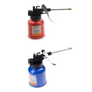 High-Pressure-250ml-Lubrication-Feed-Oil-Can-Spray-Gun-Pot-Pump-Action-Oiler-AU