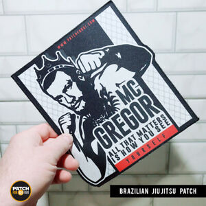 Brazilian-Jiu-Jitsu-Gi-Patch-Mac-Gregor-on-Kimono-MMA-UFC-Grappling