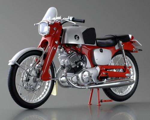 Ebbro 10023 110 Honda CB92 Rojo Bici