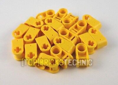 6536 ⚠️LEGO® Technic⚠️ 20x 4173666 Cross Block 90° 2M Bright Yellow