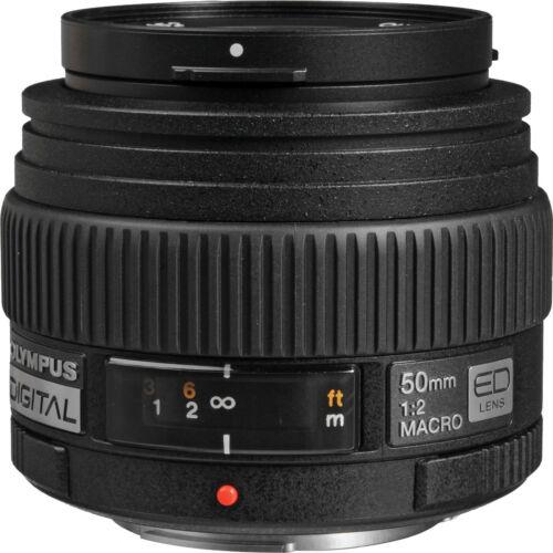 Olympus Zuiko Digital 2,0//50 macro ed lente para e-System B-Ware