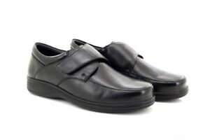 Fastening Lightweight M723 Casual Roamers Leather Mens Blac Shoes Touch Everyday twXqf1q