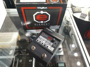 Pédale multi-effets guitare DIGITECH Element ELMTV-01 + power supply ***Excellente Condition***  (A040828) Québec Preview