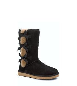 0c5127494b2 Details about NIB Women's Koolaburra by UGG Victoria Tall Winter Boots  Choose Size Black BkTn