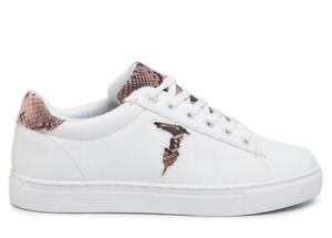 Trussardi Jeans 79A00527 Bianco Sneakers Donna Scarpa Sportiva