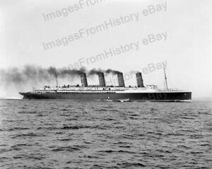 8x10-Print-RMS-Lusitania-Cunard-Line-Cruise-Ship-RMSL