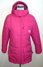 PUMA Pinker Anorak Parka Giacca Invernale Rosa coat jacket cappuccio hooded sci 36