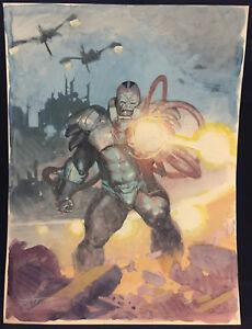 Apocalypse From The X-Men Bemalt Kunst Commission - La Signiert Von Esad Ribic