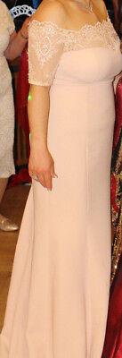 Begeistert Abendkleid Ballkleid Größe 44