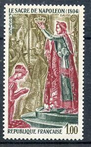 Stamp / Timbre France Neuf Luxe N° 1776 ** Histoire De France Sacre De Napoleon Larges VariéTéS