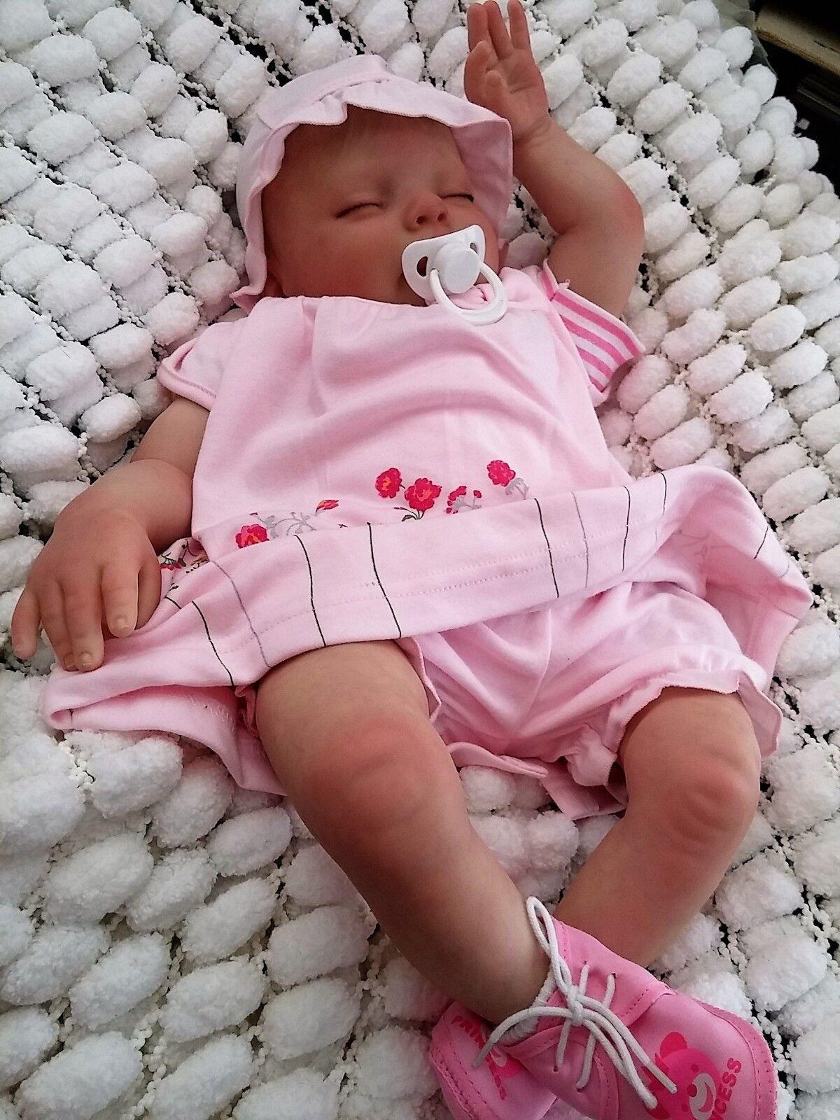 Muñeca Reborn Baby Toddler 7LBS Y Bolsa De Regalo, artista 9YR mujer Rubert sunbeambabies