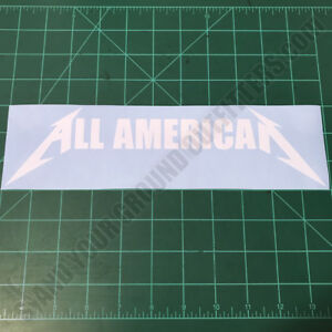 ALL-AMERICAN-Metallica-Patriotic-America-Second-Amendment-2A-Decal-Sticker