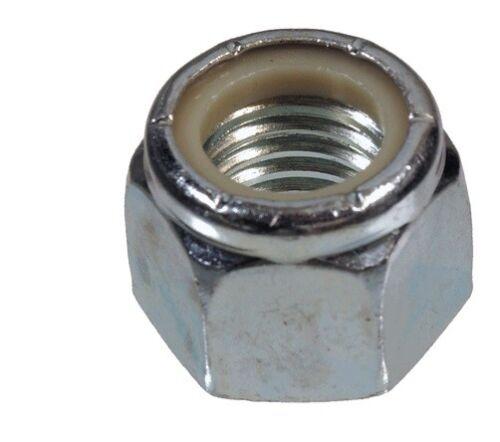 The Nylon Insert Lock Nuts Metric Fits Vortex 150 Mini Pro Brushless FPV Silver