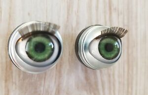 """b8ba3c81131 18mm Doll Eyes - Fit 18"""" American Girl Dolls Open/Close With Lashes ..."""