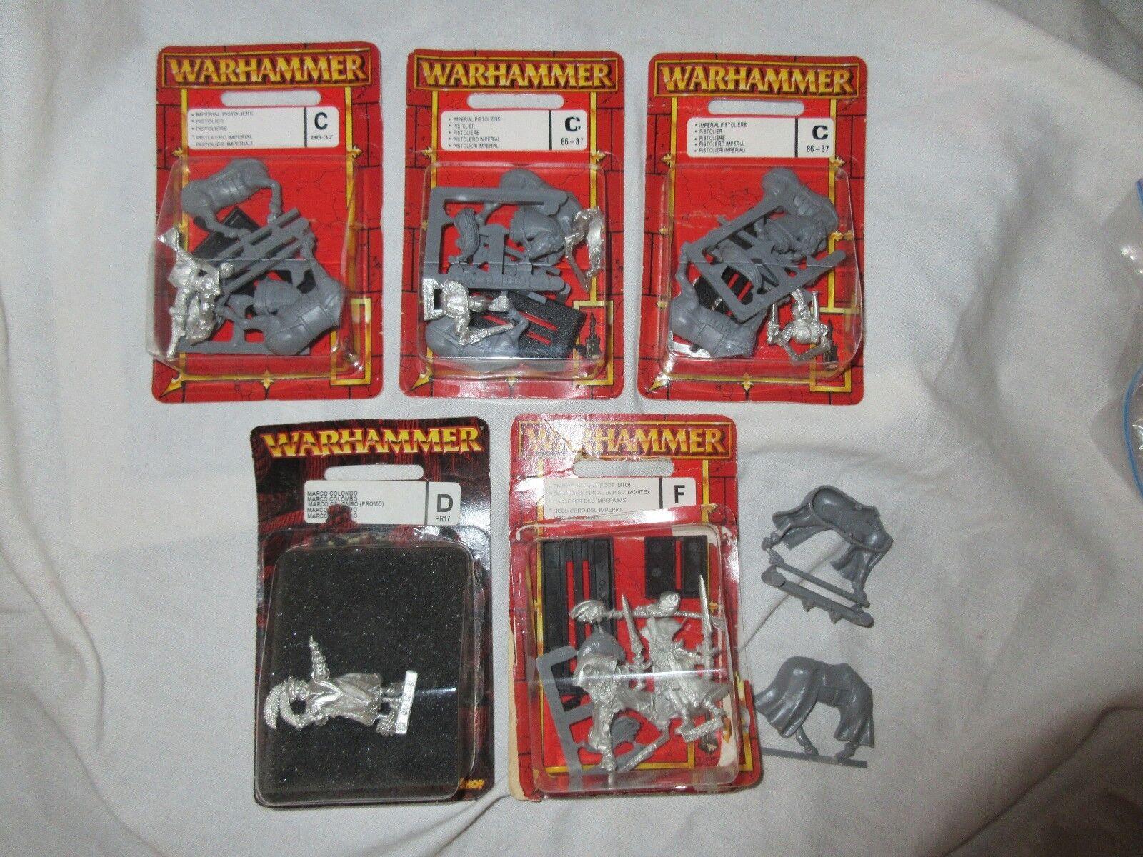 Warhammer empire por favor, elija blisterpackungen