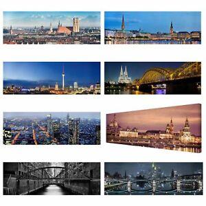 XXL-Leinwand-Bild-Deutsche-Staedte-Berlin-Hamburg-Muenchen-Koeln-Dresden-Frankfurt
